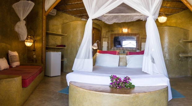 Luxury King Room with Sea View, Casa na Praia Tofo Beach Mozambique